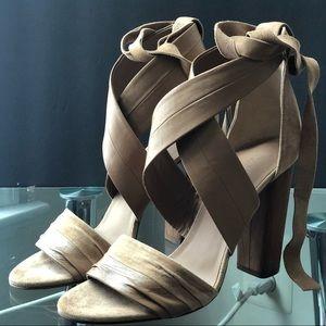 Vince Sand Beatrice Wrap Sandal